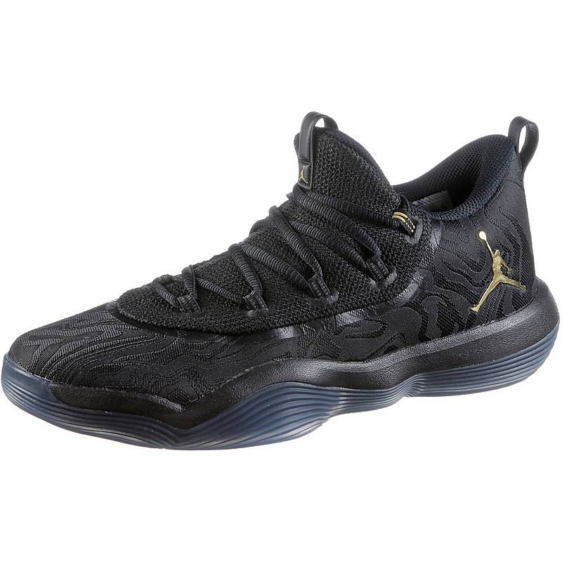372462d43b5c ... purchase nike jordan super.fly sneaker herren black metallic gold 57150  9d124