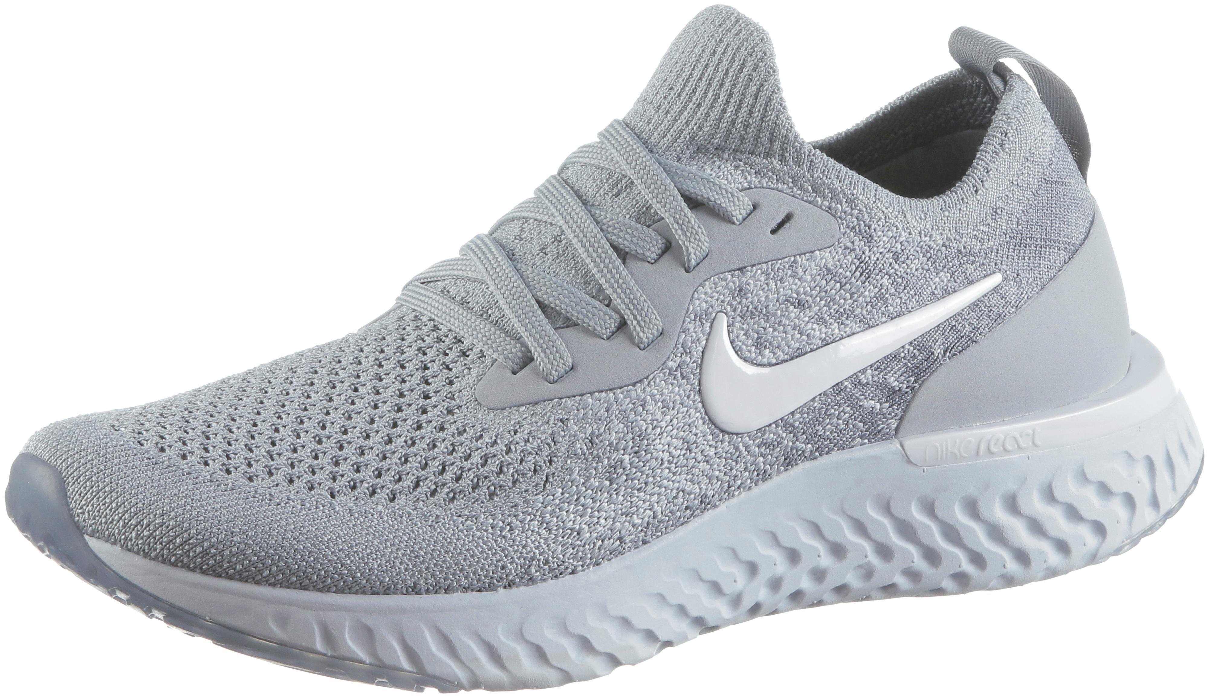 Nike React Laufschuhe Kinder wolf grey white im Online Shop von SportScheck kaufen