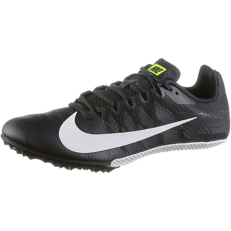 cheap for discount 9b083 714bd Nike ZOOM RIVAL S 9 Laufschuhe Herren black-white-volt