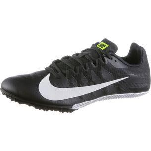 Nike ZOOM RIVAL S 9 Laufschuhe Herren black-white-volt