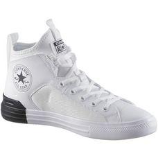CONVERSE CTAS ULTRA MID Sneaker Herren white-white-black