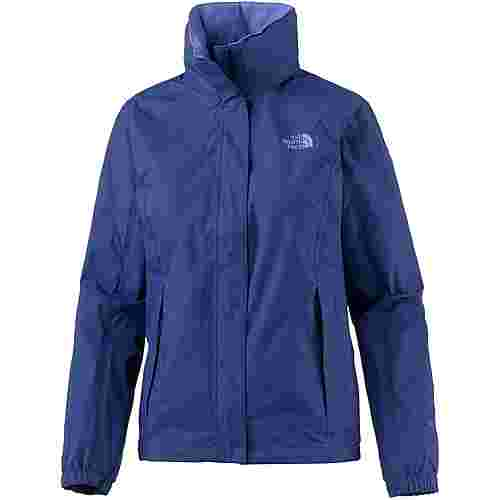 the north face resolve 2 regenjacke damen sodalite blue im online shop von sportscheck kaufen. Black Bedroom Furniture Sets. Home Design Ideas