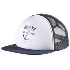 Bench Cap Kinder maritime blue