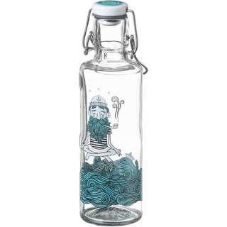 soulbottles Soulsailor Trinkflasche transparent-blau