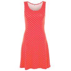 BEACH TIME Minikleid Damen rot-weiß