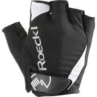 Roeckl Baku Fahrradhandschuhe schwarz/weiß