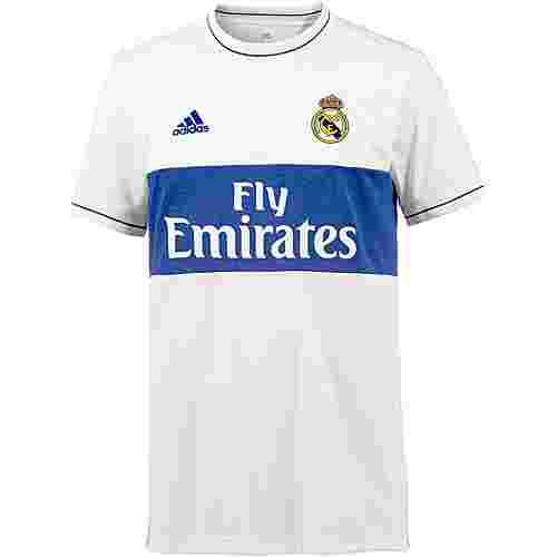adidas Real Madrid Icon Fußballtrikot Herren BOBLUE/CWHITE