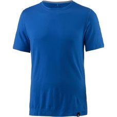 Odlo Natural 100% Merino Funktionsshirt Herren energy blue-grey melange