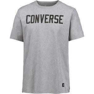 CONVERSE T-Shirt Herren light grey heather