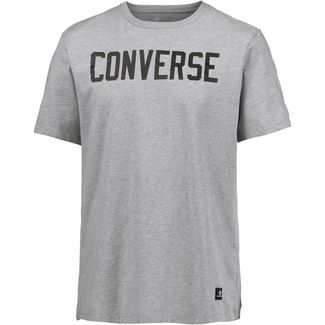 CONVERSE T-Shirt Herren light grey heather