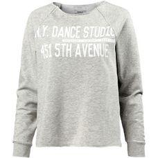 Only Sweatshirt Damen light-grey-melange