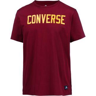CONVERSE T-Shirt Herren team red