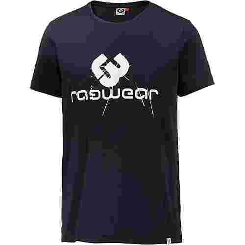Ragwear CHARLES T-Shirt Herren navy
