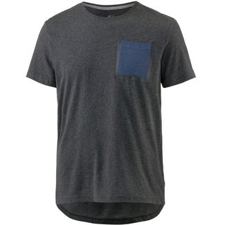 unifit T-Shirt Herren dunkelgrau