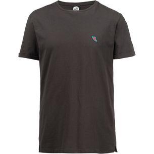 Rip Curl SEARCH BADGE T-Shirt Herren pirate black