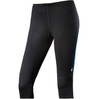 ASICS Lauftights Damen performance black-atomic blue