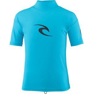 Rip Curl BOYS CORPO S/S Surf Shirt Kinder BLUE