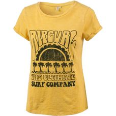 Rip Curl CORAL BAY T-Shirt Damen yellow