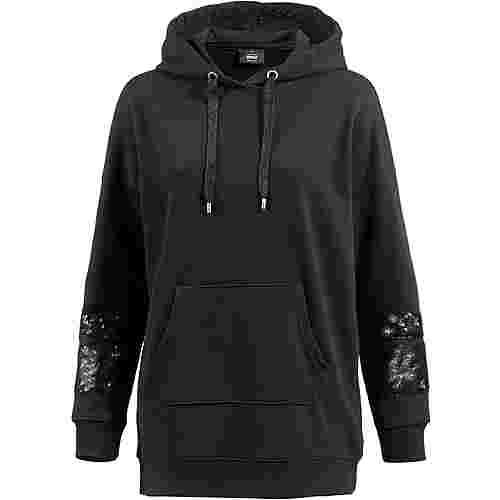 Only Hoodie Damen black