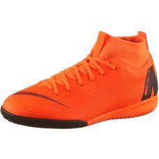 Nike JR MERCURIAL SUPERFLYX 6 ACADEMY GS IC Fußballschuhe Kinder total orange/white-total orange-volt