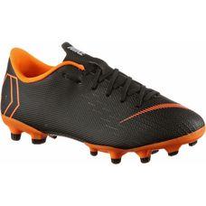 Nike JR MERCURIAL VAPOR 12 ACADEMY GS MG Fußballschuhe Kinder black/total orange-white