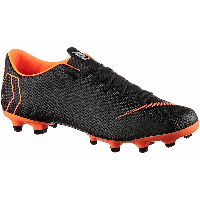 028623e7d78 Nike MERCURIAL VAPOR 12 ACADEMY MG Fußballschuhe Herren black total orange -white