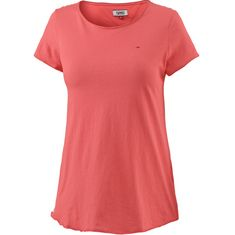 Tommy Jeans T-Shirt Damen SPICED CORAL