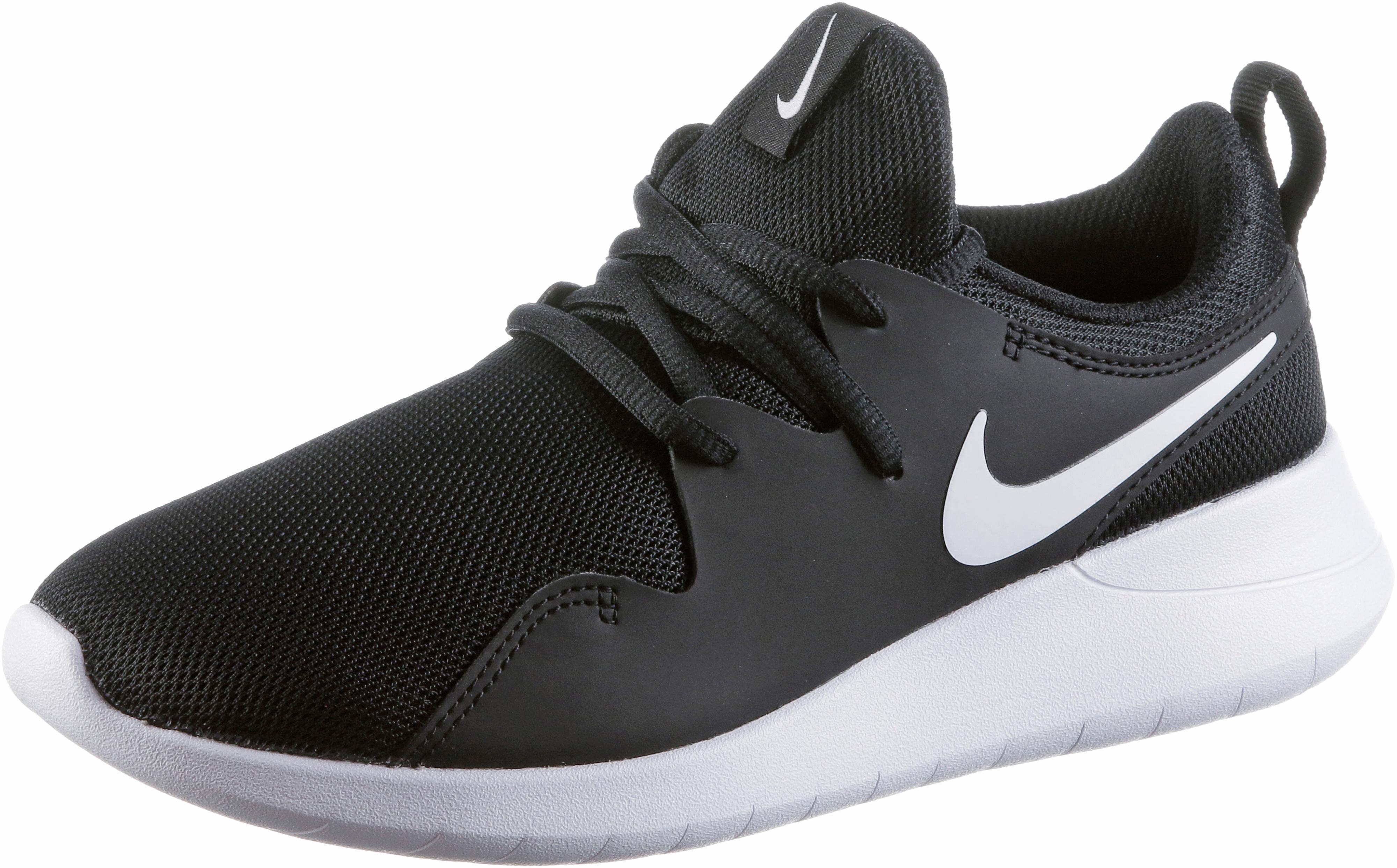 206b008695a026 Nike Tessen Sneaker Kinder black-white-white im Online Shop von SportScheck  kaufen