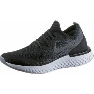 Nike EPIC REACT FLYKNIT Laufschuhe Damen black-black-dark-grey-pure-platinum