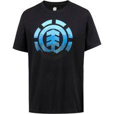 Element hues T-Shirt Herren flint black