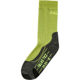 Falke Wandersocken Kinder lime