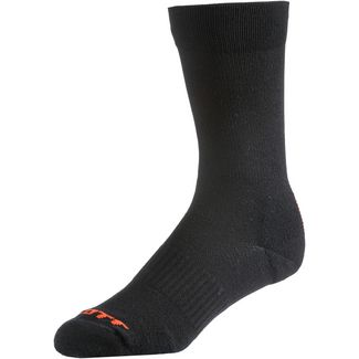SCOTT Trail Long Fahrradsocken black/tangerine orange