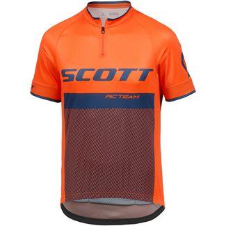 SCOTT RC Team Fahrradtrikot Herren mandarin orange/nightfall blue