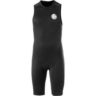 Rip Curl AGGROLITE BZ Surf Shirt Herren black