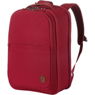 FJÄLLRÄVEN Travel Pack Small Kofferrucksack redwood