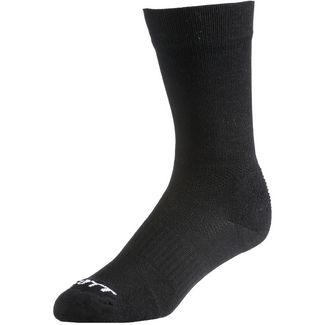SCOTT Trail Long Fahrradsocken black/white