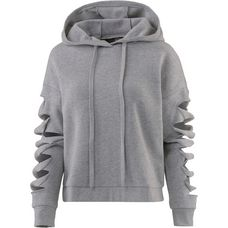 alo yoga Slay Hoodie Damen dove grey heather