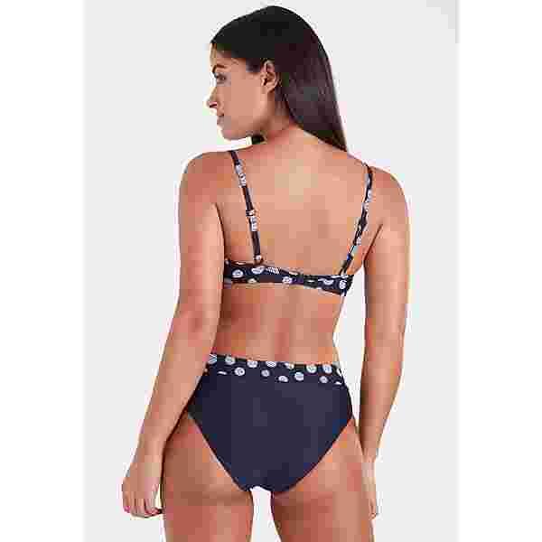 Lascana Bikini Set Damen marine-weiß