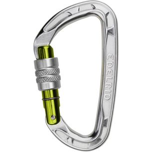 EDELRID Pure Screw Karabiner silver