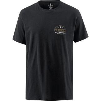 Volcom BARRED T-Shirt Herren BLACK
