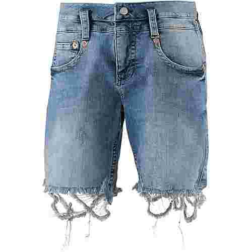 Herrlicher Pitch Jeansshorts Damen edgy