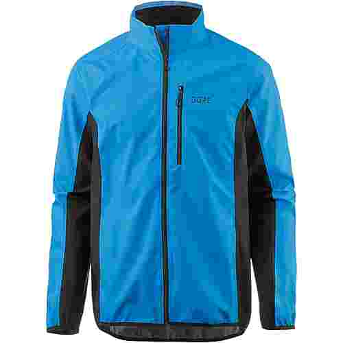 GORE® WEAR C3 WINDSTOPPER® GORE-TEX® Funktionsjacke Herren dynamic cyan/black
