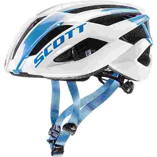 scott arx fahrradhelm white blue im online shop von sportscheck kaufen. Black Bedroom Furniture Sets. Home Design Ideas