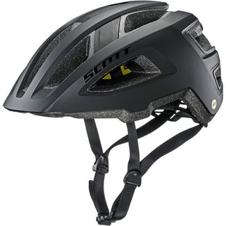 SCOTT Groove Plus Fahrradhelm black matt