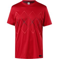 adidas Miami Open Tennisshirt Herren scarlet