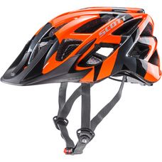 SCOTT Spunto Fahrradhelm Kinder orange camo