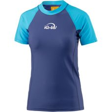 iQ Surf Shirt Damen turquoise-navy
