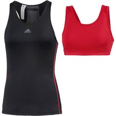 adidas Miami Open Tennisshirt Damen black