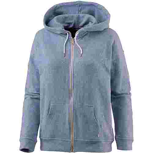 Volcom LIL ZIP Hoodie Damen WASHED BLUE