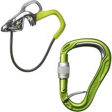 EDELRID Mega Jul Kit Bulletproof Screw Sicherungsgerät oasis